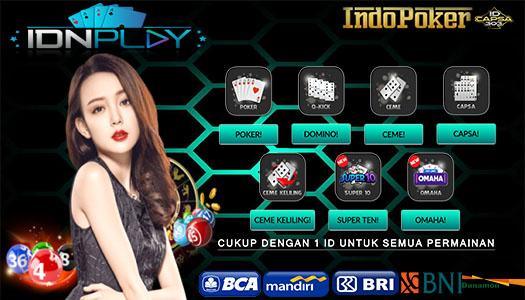 Agen IDNPlay Lokasi Bermain Poker Online