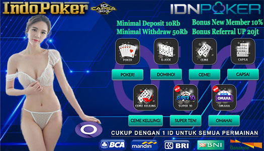 Agen IDNPlay Sediakan Layanan Deposit Poker OVO