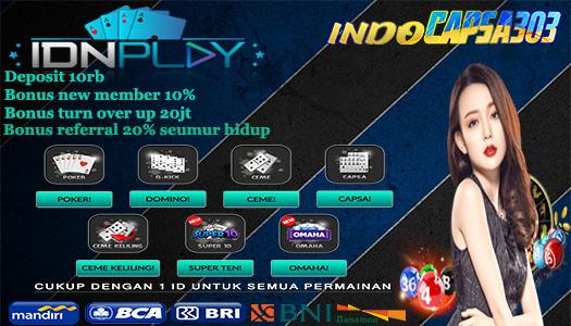 IDNPlay ♠ Situs Poker Online Teraman Di Indonesia