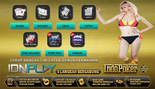 Daftar Idnplay Untuk Main Ceme Online IDN Poker